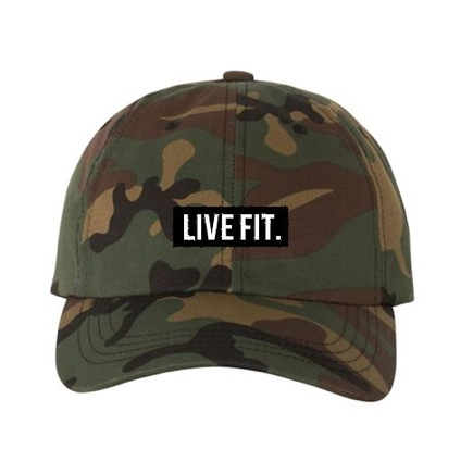 LIVE FIT Original Cap- Camo