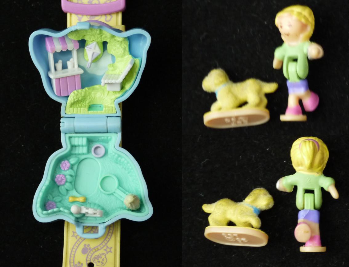 ポーリーポケット 子犬のブレスレット 1995年 完品 レア!
