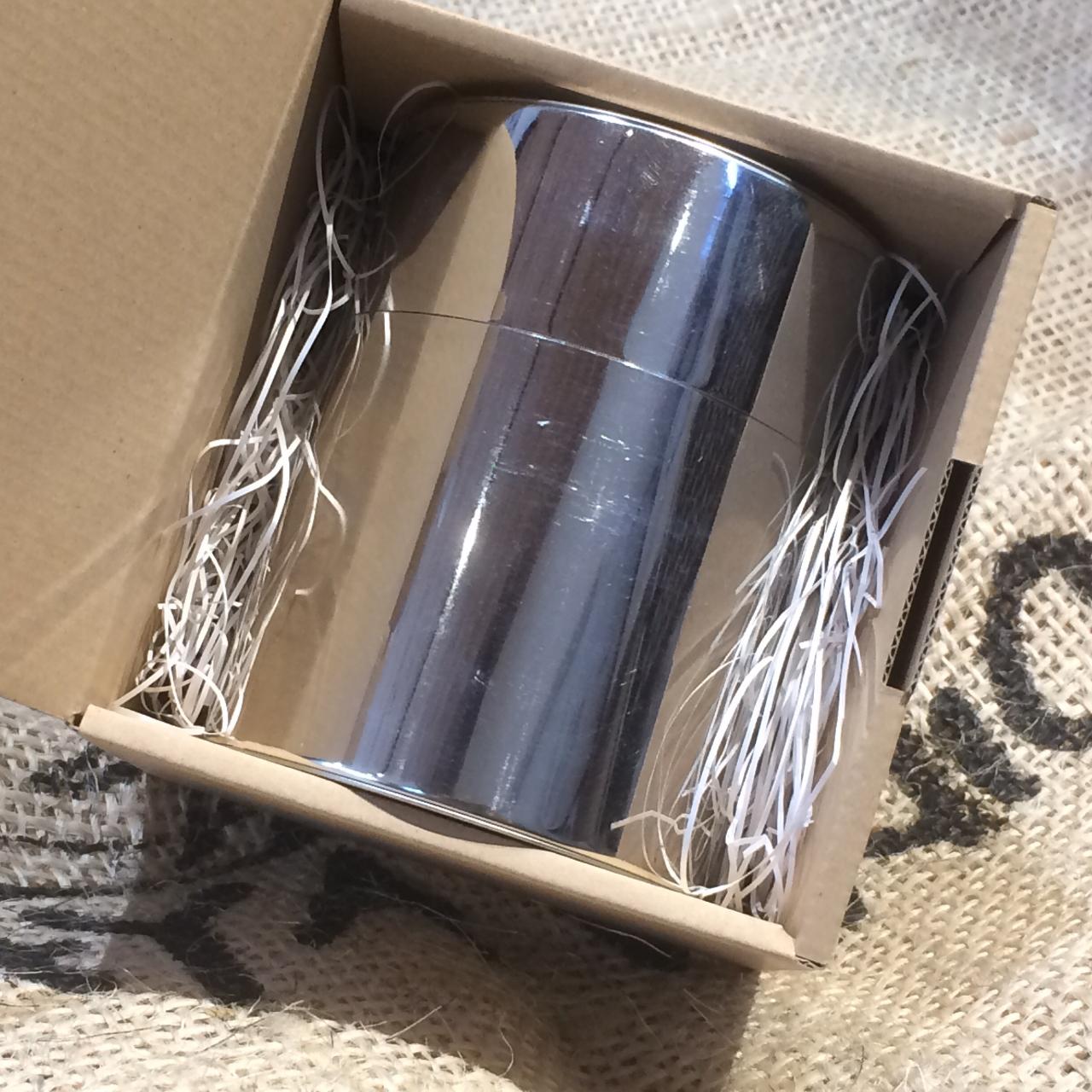 【ギフト】コーヒー100gと手作りブリキ缶の詰め合わせ