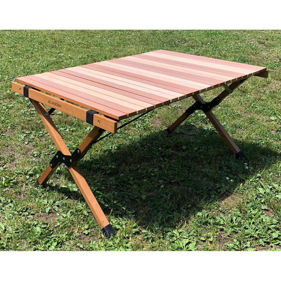 ANOBA ウッドロールテーブル