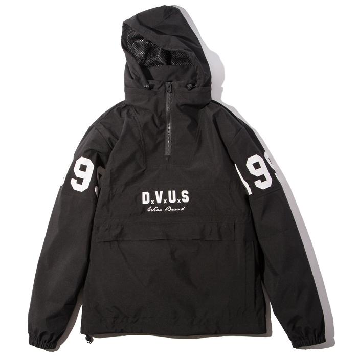 【送料無料】Deviluse(デビルユース) | Anorak Jacket(Black/Black)