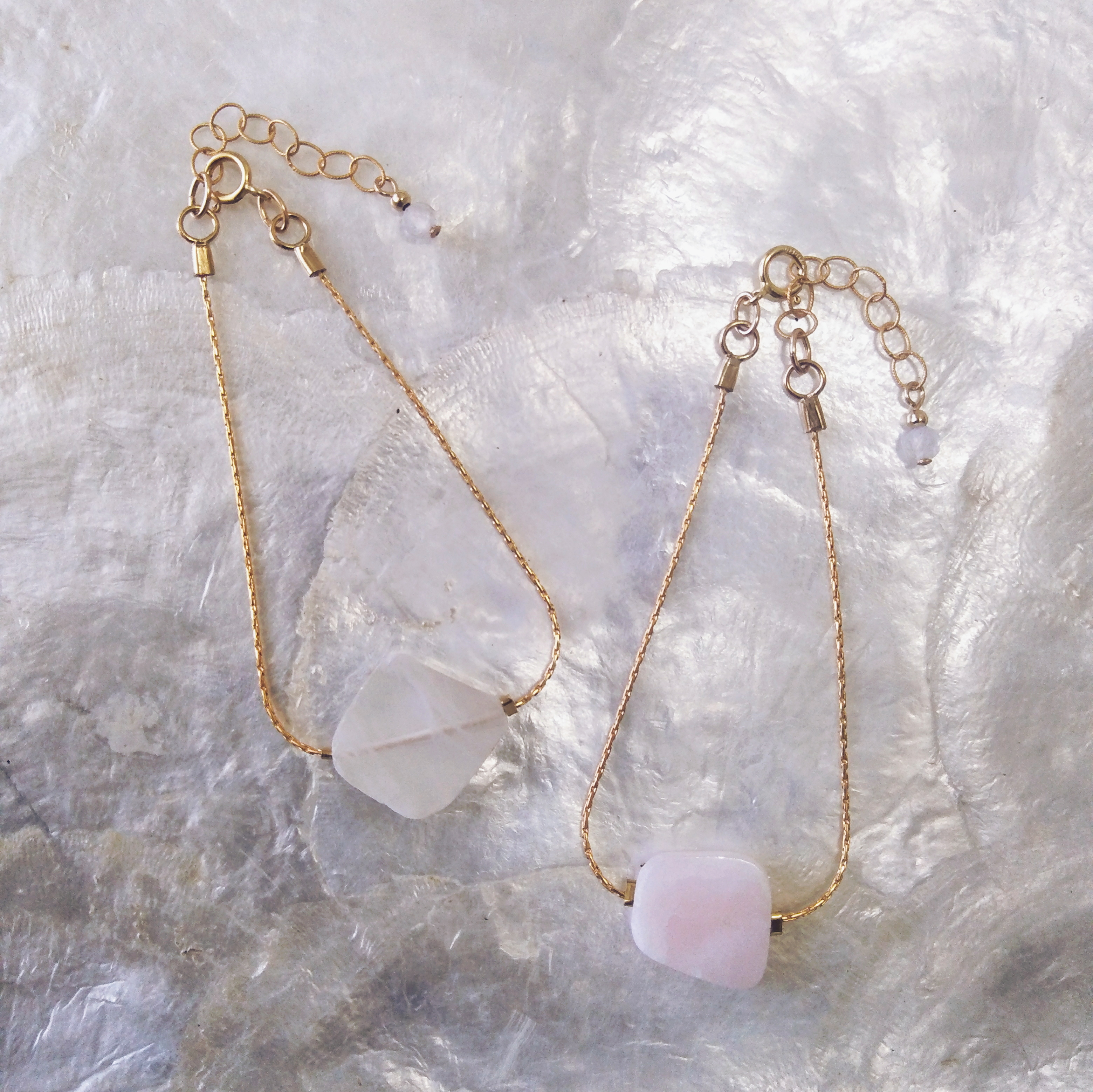 Slice Stone Bracelet