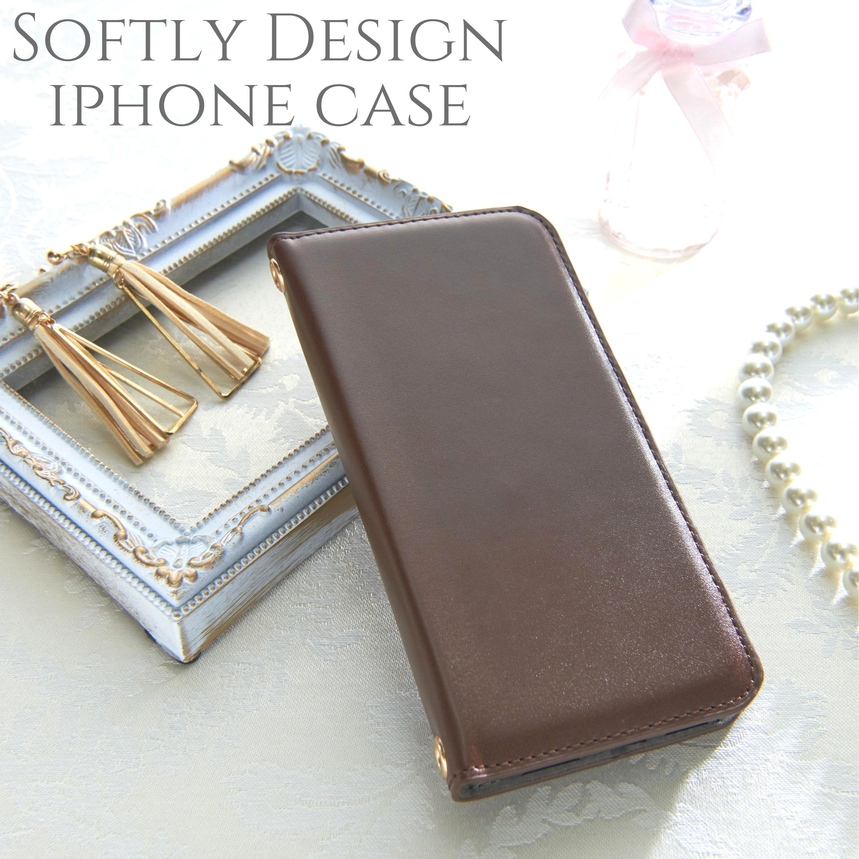 iphoneケース 手帳型 iphoneXs iphoneXR iphone8 8plus iphone6s スマホケース シンプル かわいい おしゃれ 大人可愛い スタンド レディース ペア カップル お揃い ブラウン