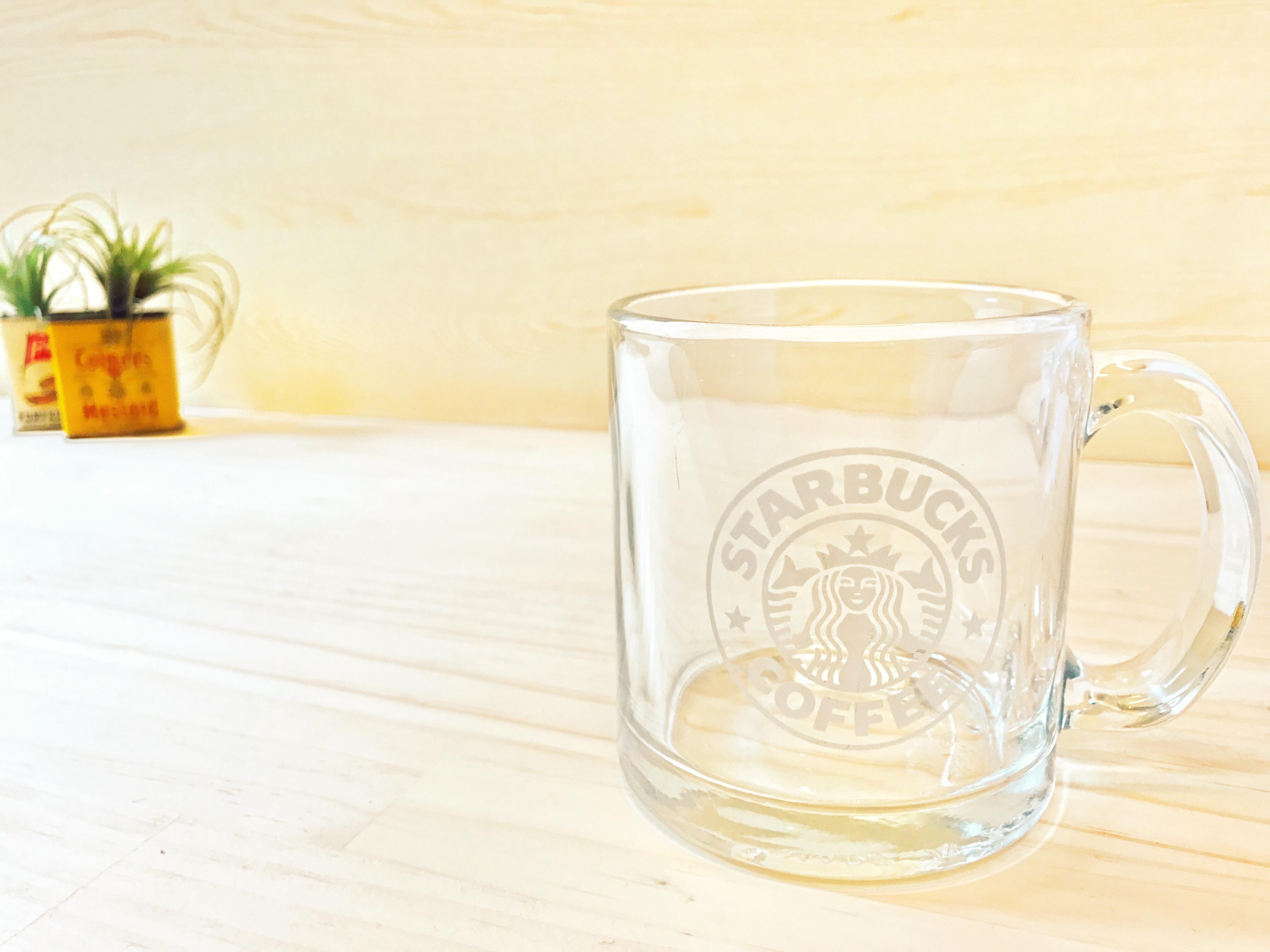 スターバックス クリアガラス マグ 旧ロゴ