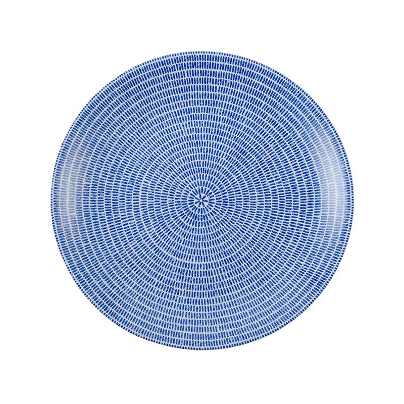 ARABIA 24h Avec プレート20cm ブルー