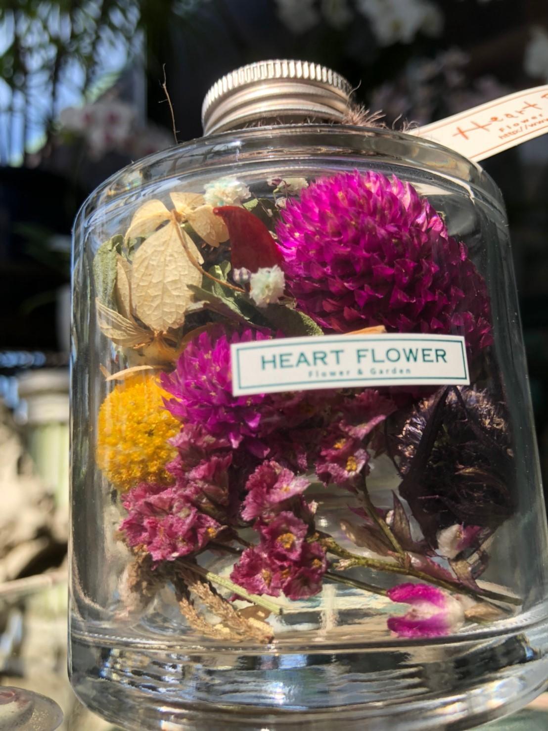 フラワーボトル colors - made by Heartflower