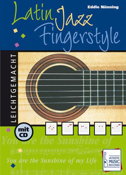 AMB3003 Latin Jazz Fingerstyle / Eddie Nünning (TAB譜CD付)