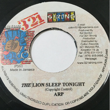 ARP (エーアールピー) - Lion Sleep Tonight【7'】