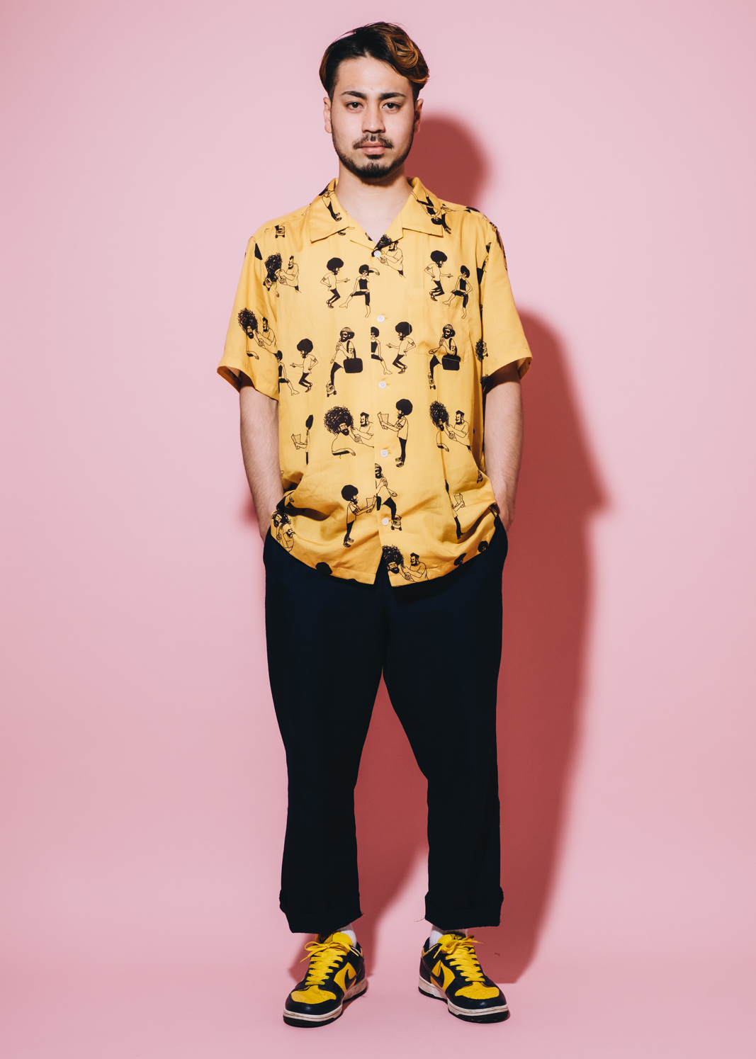 Afro × good day / 2019 SS HAWAIIAN SHIRT