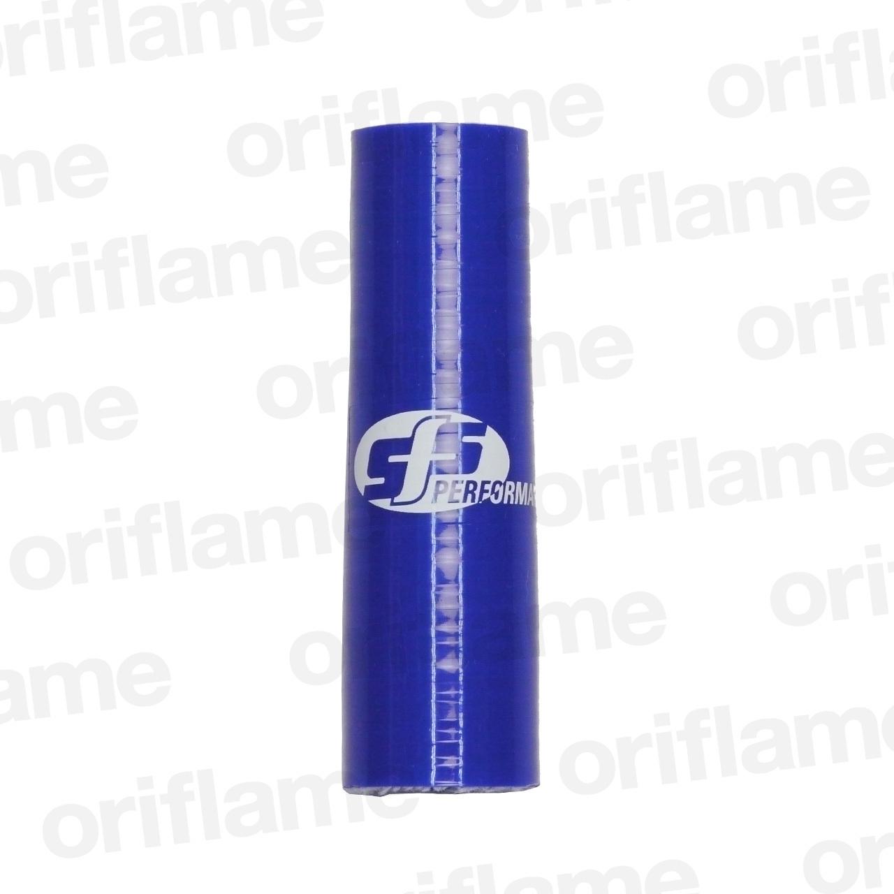 異径・ストレートホース・内径22 x 16mm・ブルー