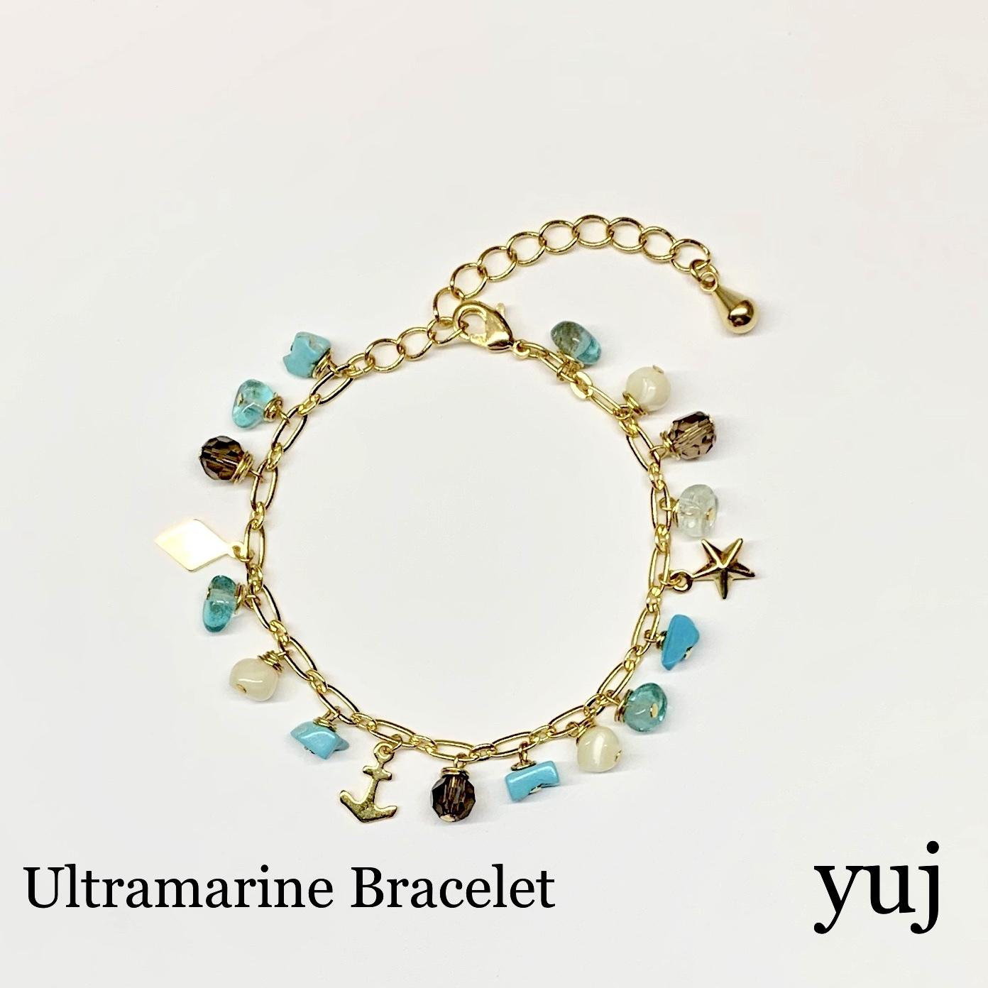 Blue yuj  ウルトラマリン ブレスレット