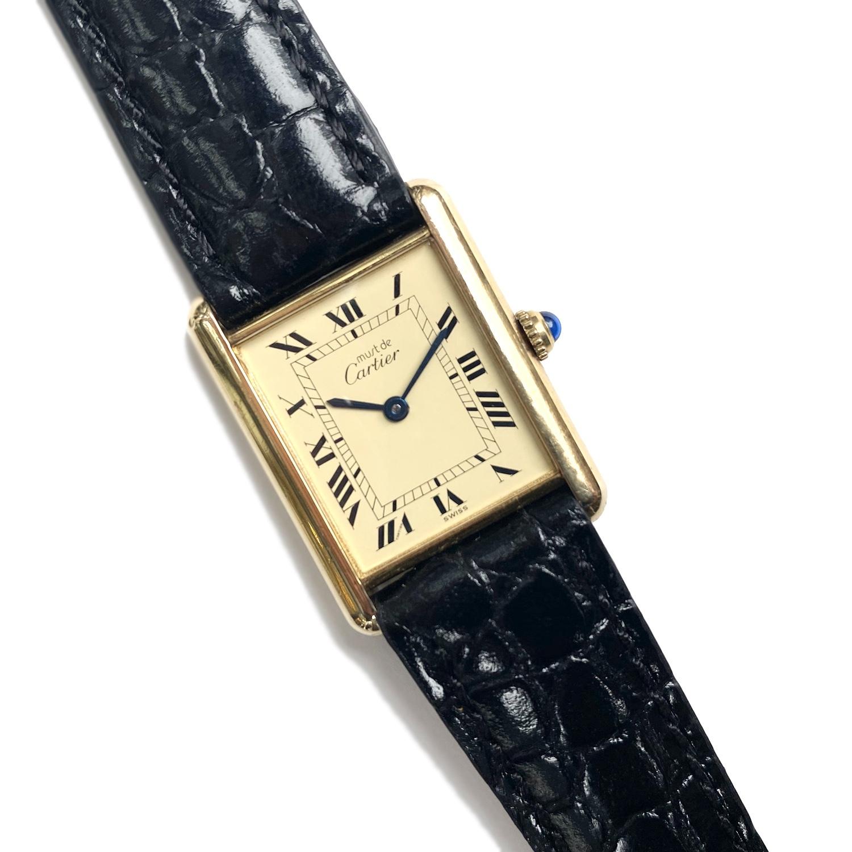 Cartier・must de TANK