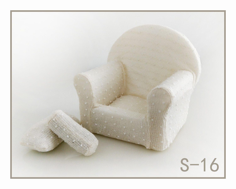 新生児用撮影ソファーとティーテーブル&ティーセット小道具