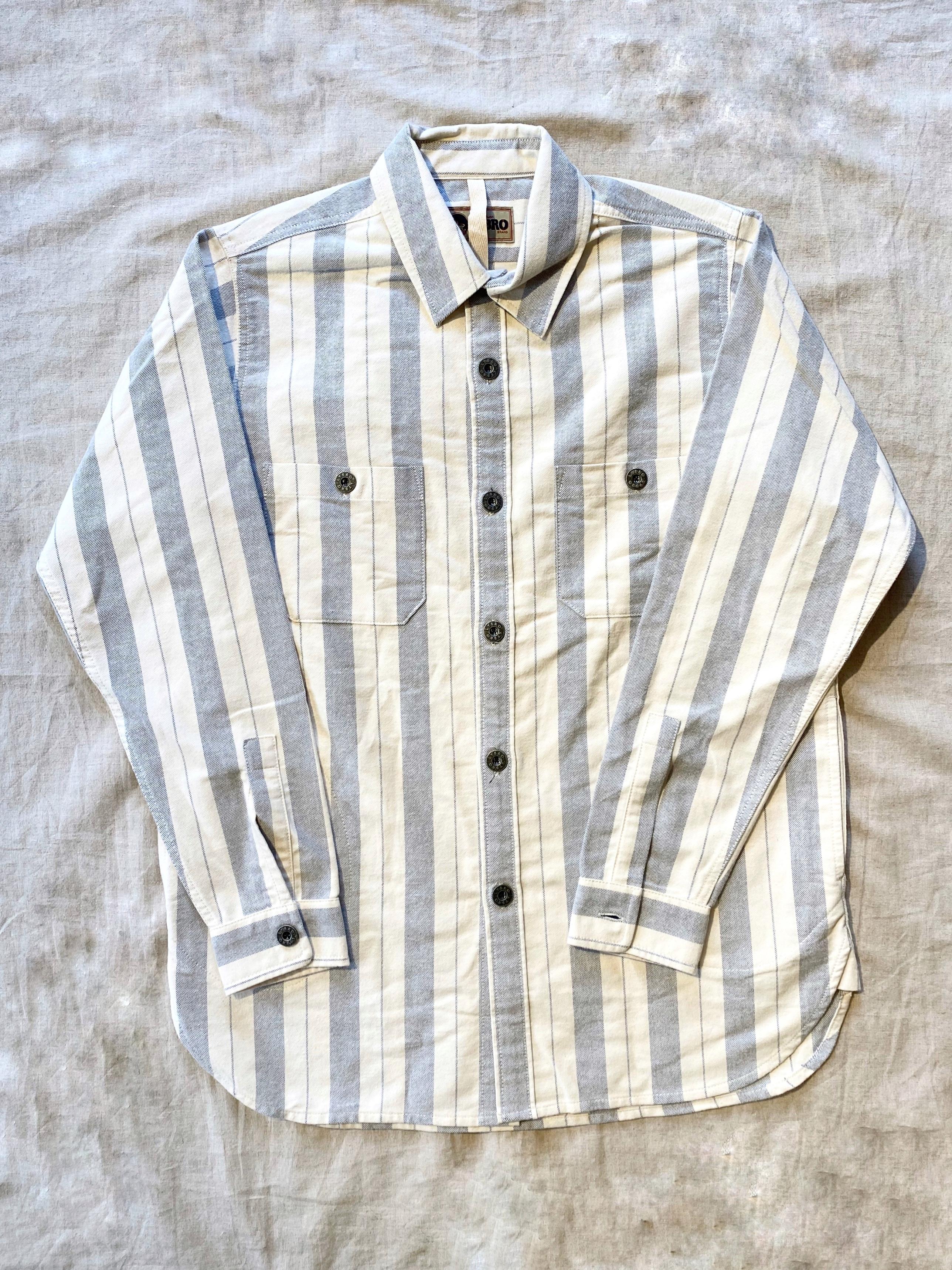 アークティックシャツコットンストライプ / ARCTIC SHIRT COTTON STRIPE