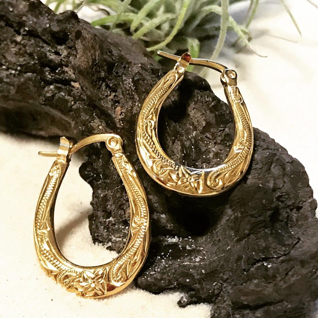Hawaiian jewelry ピアス レディース