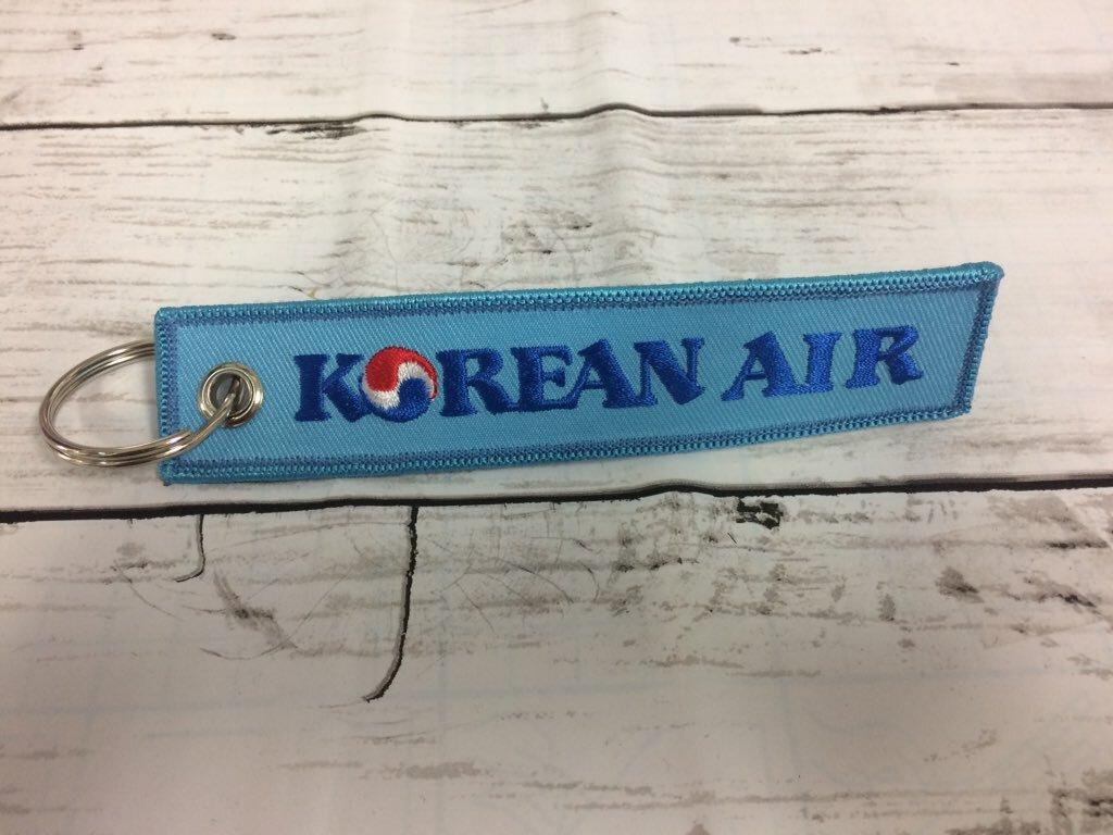 REMOVE BEFORE FLIGHTキーホルダー/大韓航空