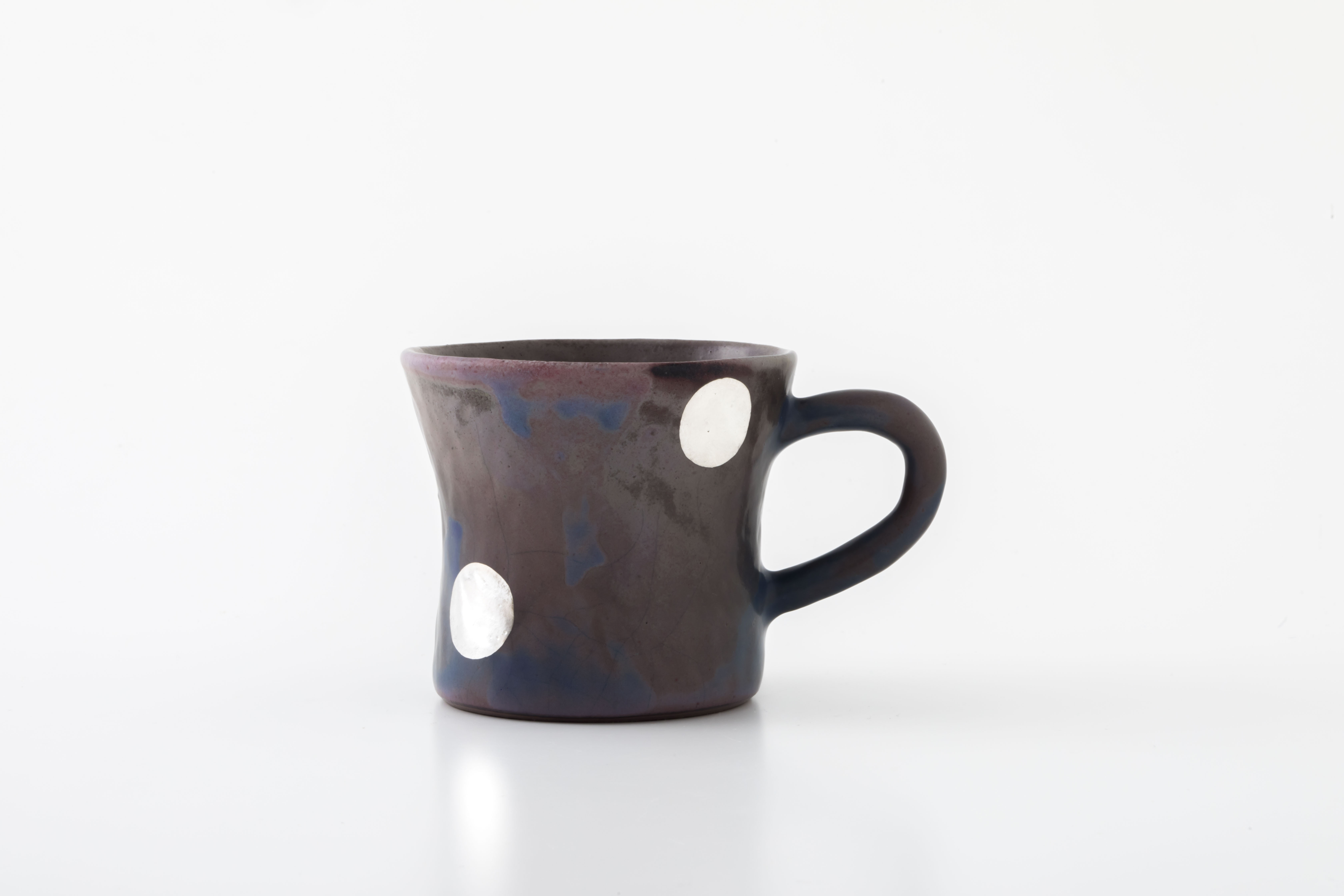diner mug:銀ドット(06-2) / holk store × 中囿義光