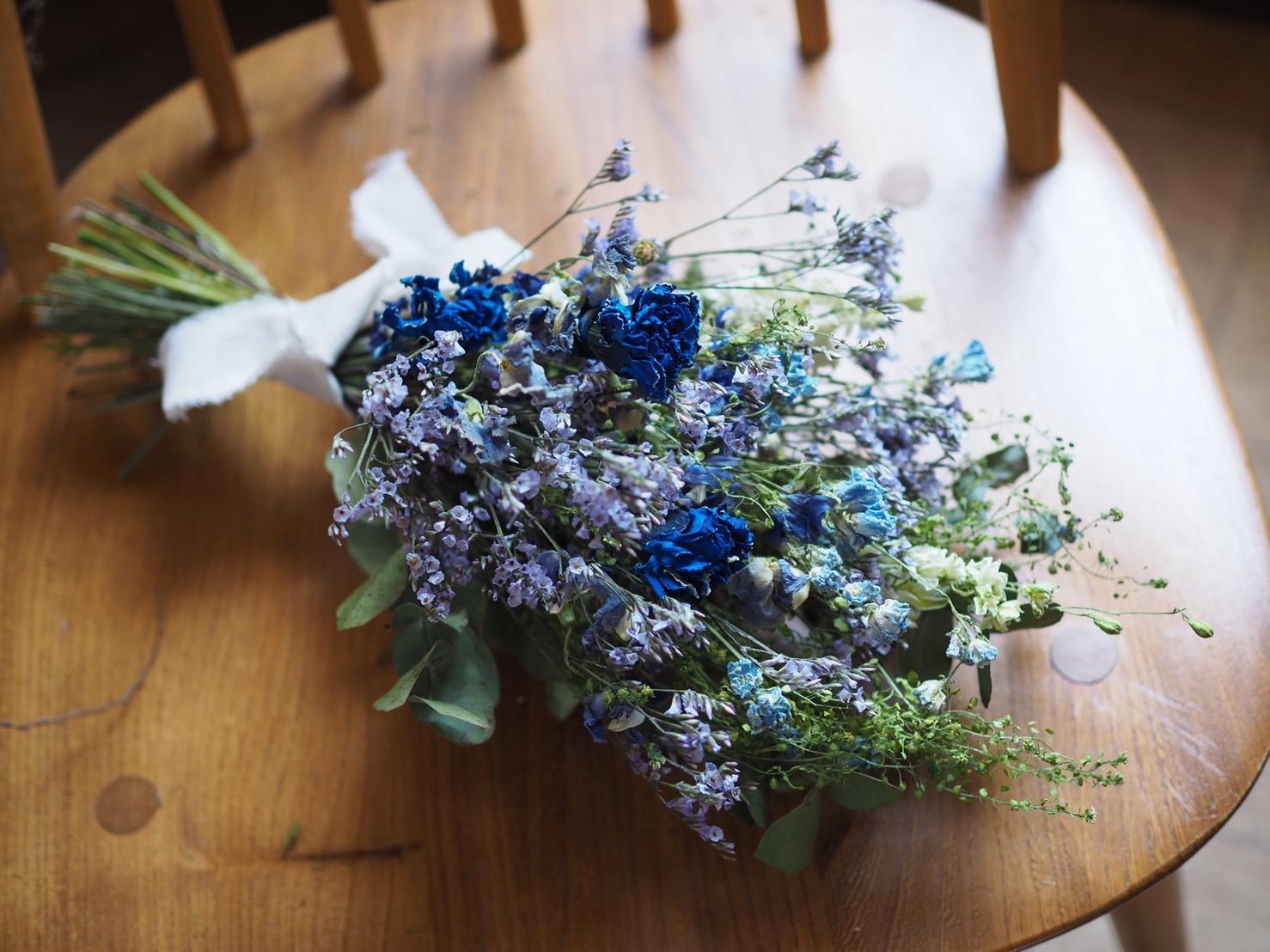 【ドライスワッグ】Blue × Purple_カーネーション入り