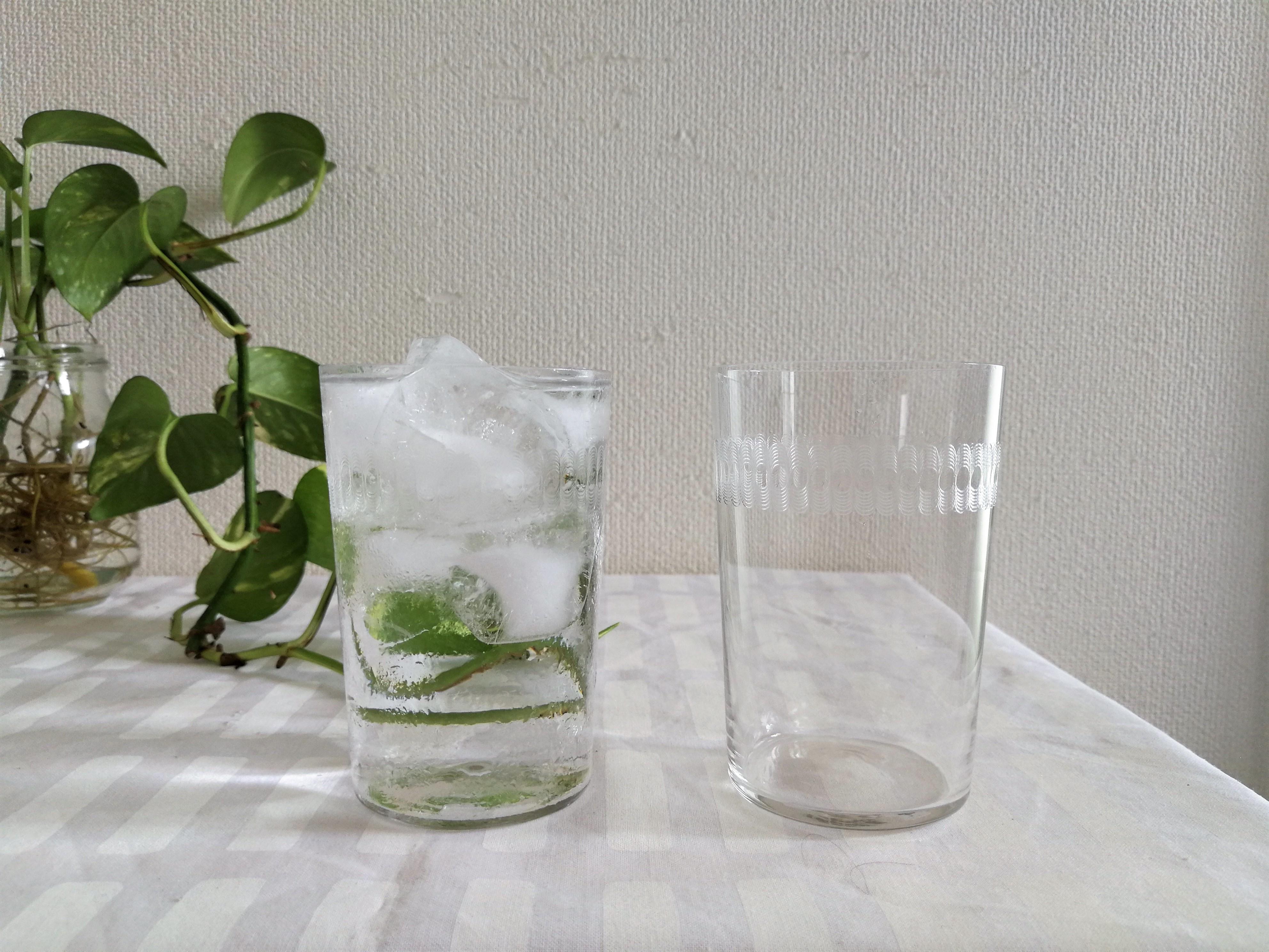 グラス /  フィンランドで見つけたアンティーク / (クリア)