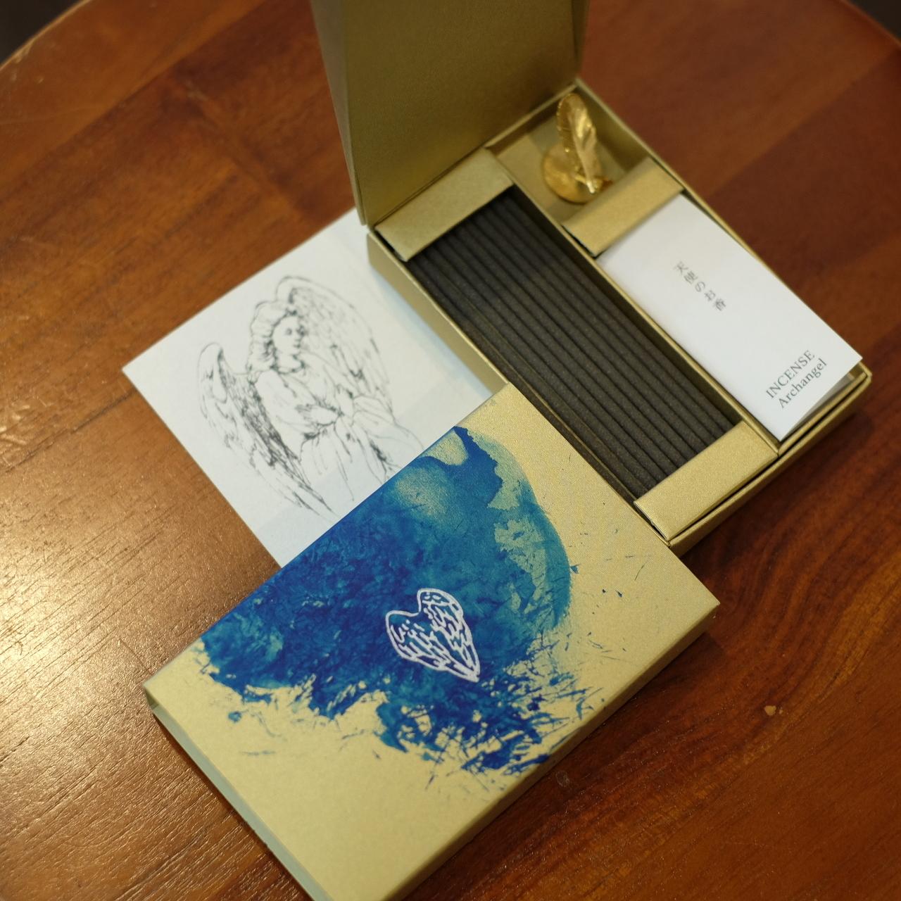 東京香堂 天使の香 akihamaお香立て特別セット ARCHANGEL(大天使)