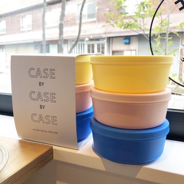 CASE BY CASE BY CASE 保存容器 お弁当箱 小物入れ タッパー (M)TIAMAT
