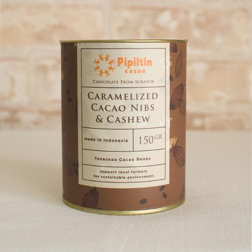 【Pipiltin cocoa/ピピルティンココア】 カラメルがけカカオニブ&カシュ―