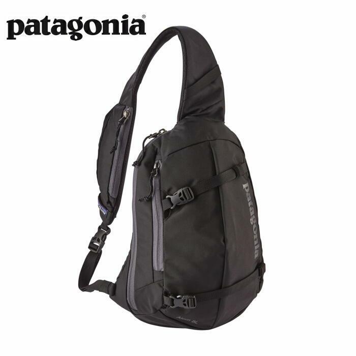 パタゴニア PATAGONIA バッグ ボディーバッグ ショルダーバッグ アトム スリング 8L ブラック 48261 【正規取扱店】