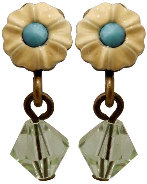 Carousel earring stud dangllng ピアス141