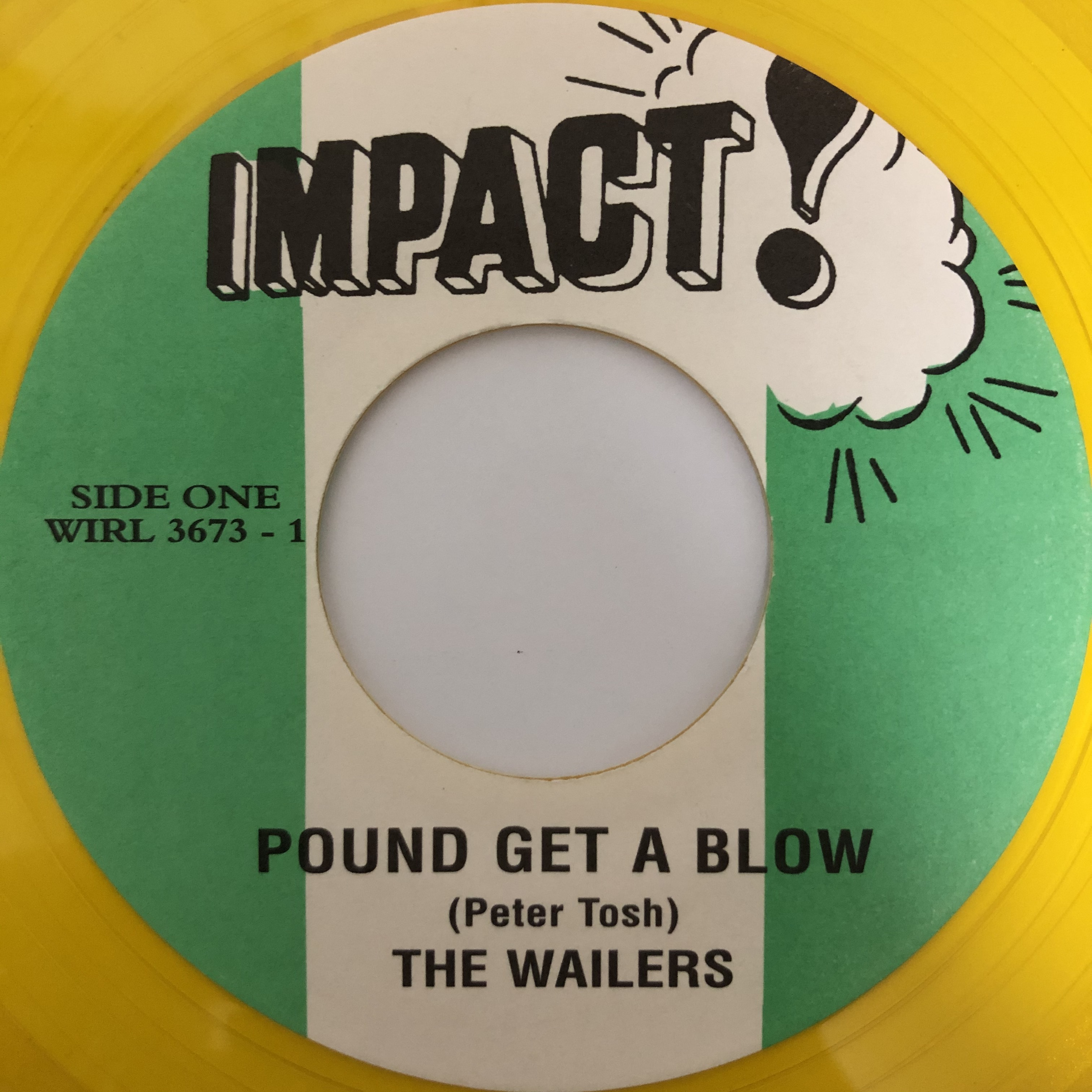The Wailers - Pound Get A Blow 【7-20396】