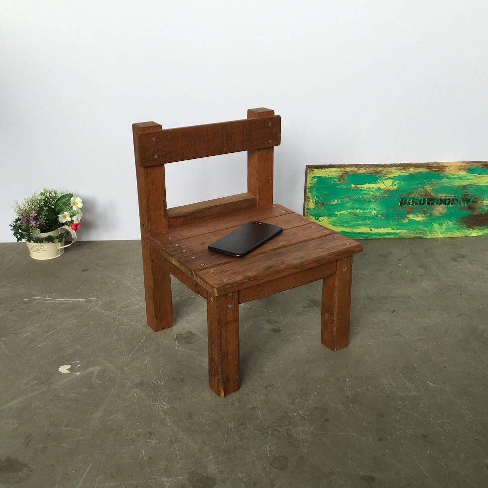 ビンテージ調 椅子ミニ - 画像2