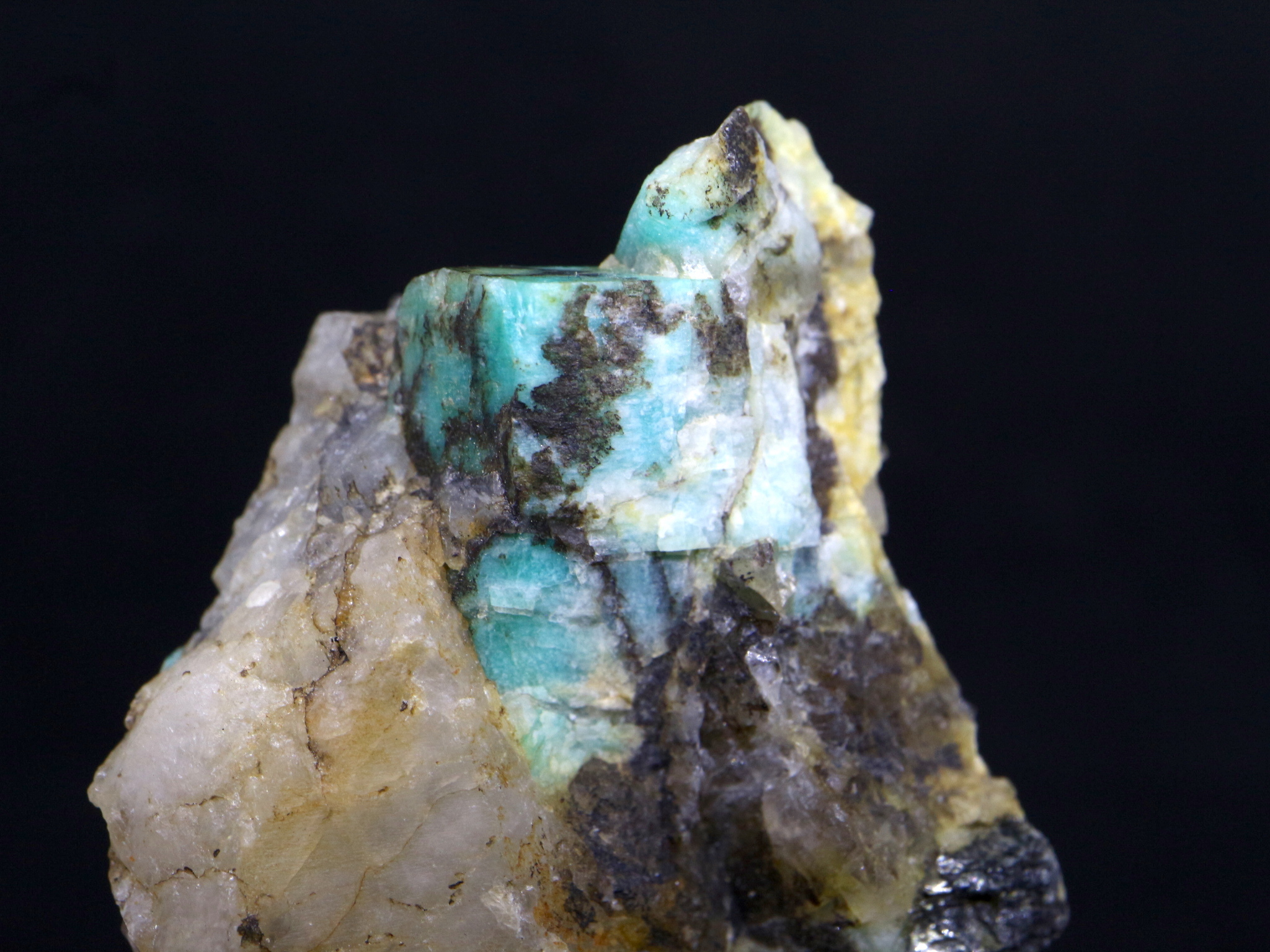 カリフォルニア産アマゾナイト 原石 36.3g AZ005
