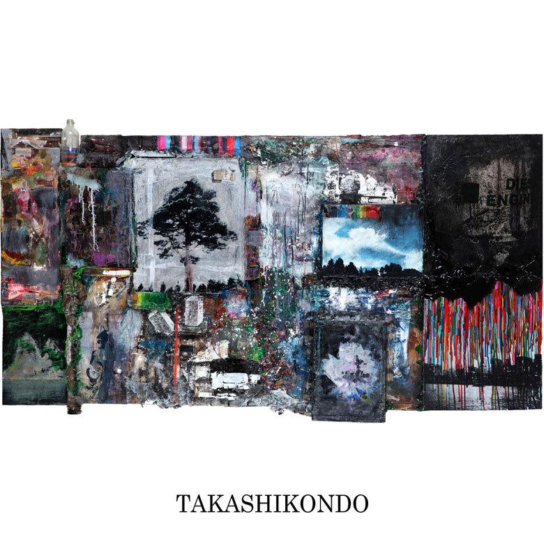 TAKASHI KONDO 絵画 EDN
