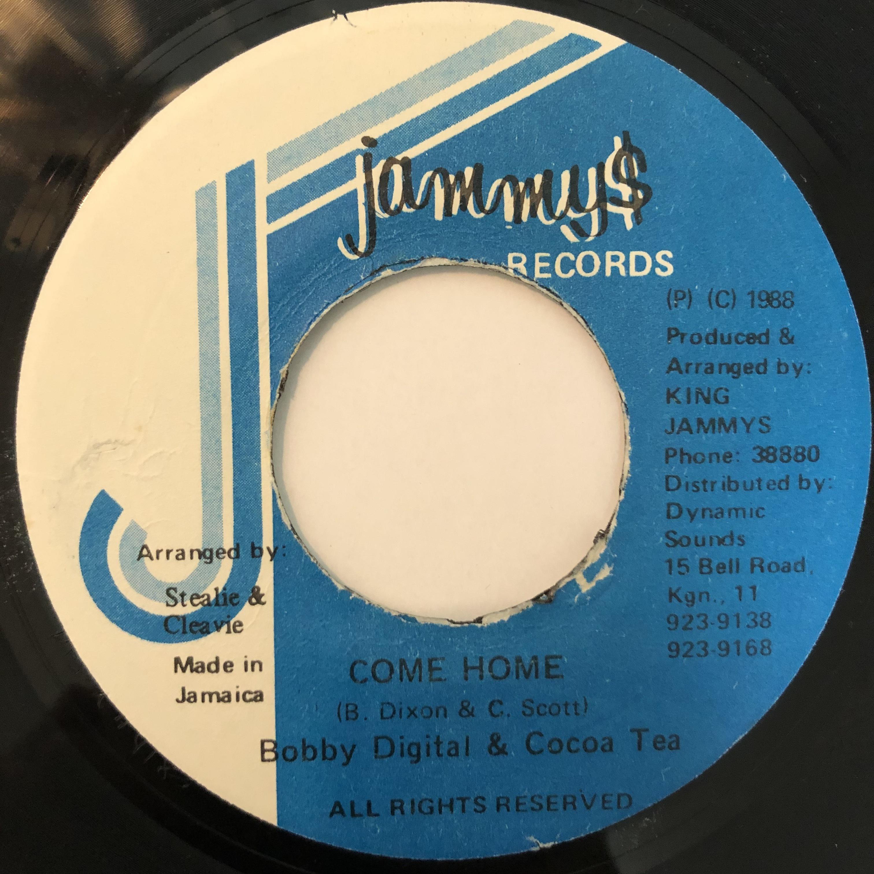 Cocoa Tea, Bobby Digital - Come Home【7-20384】