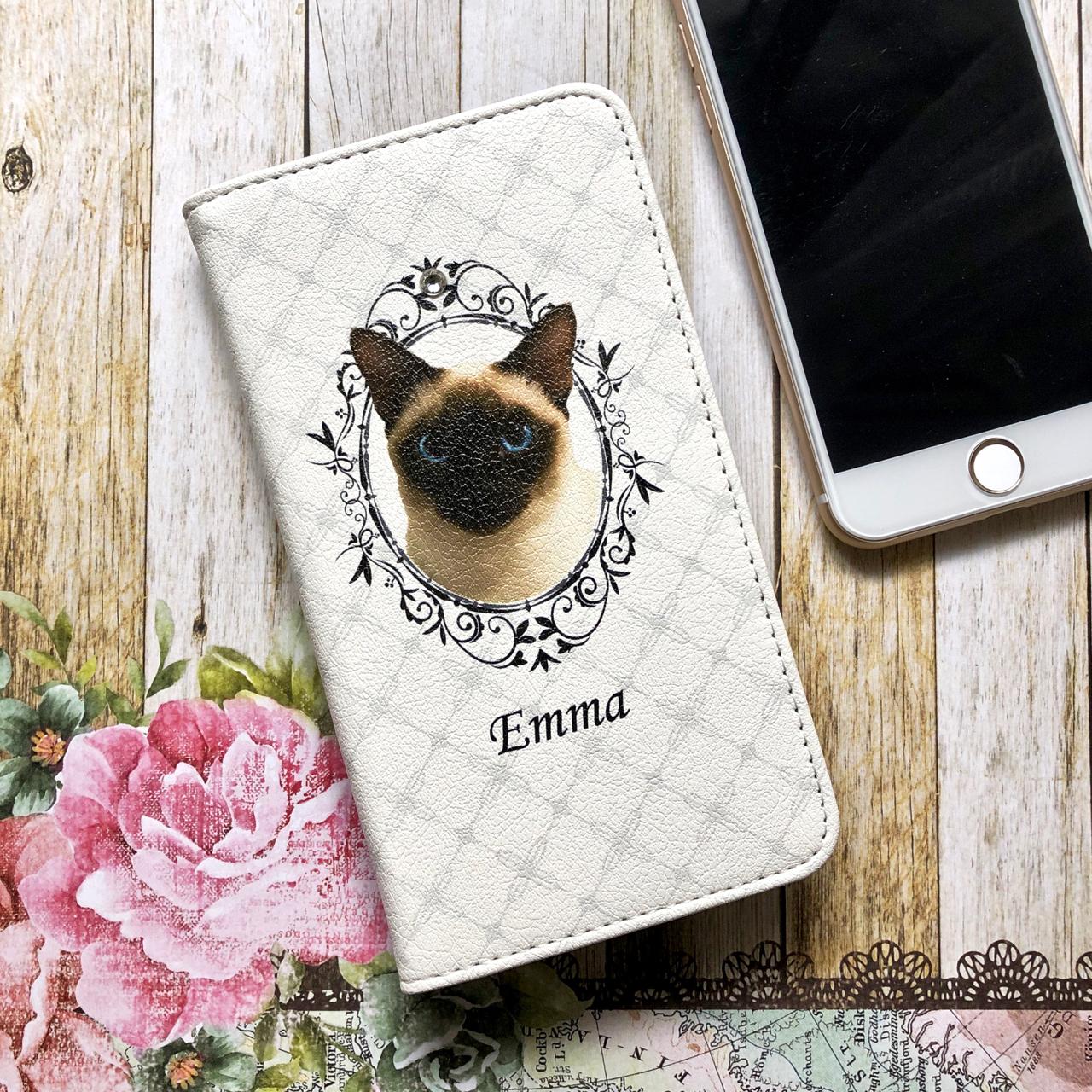 """うちの子の写真で作るスマホケース""""Emma"""""""