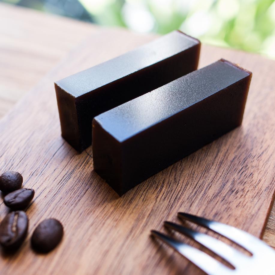 [ サイドメニュー ] オリジナル珈琲羊羹 / Original Coffee Yokan / 手作咖啡羊羹