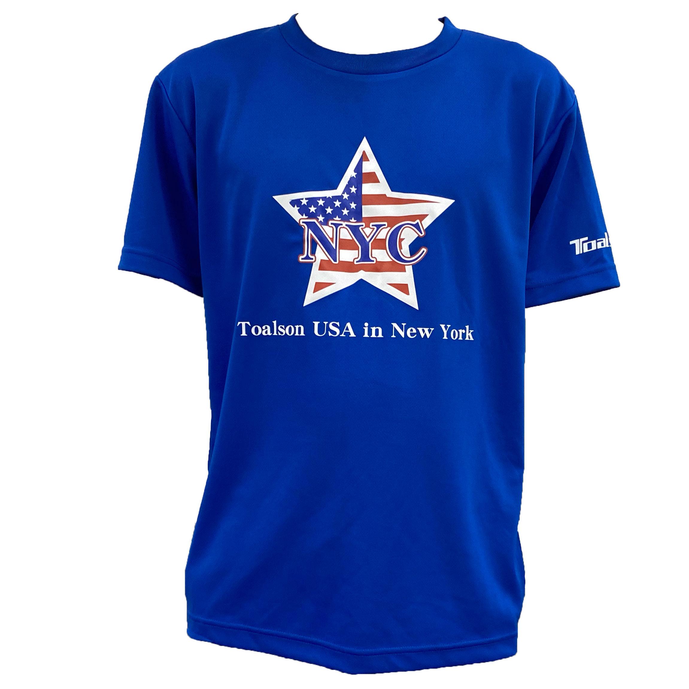 NYCTシャツ(ロイヤルブルー)