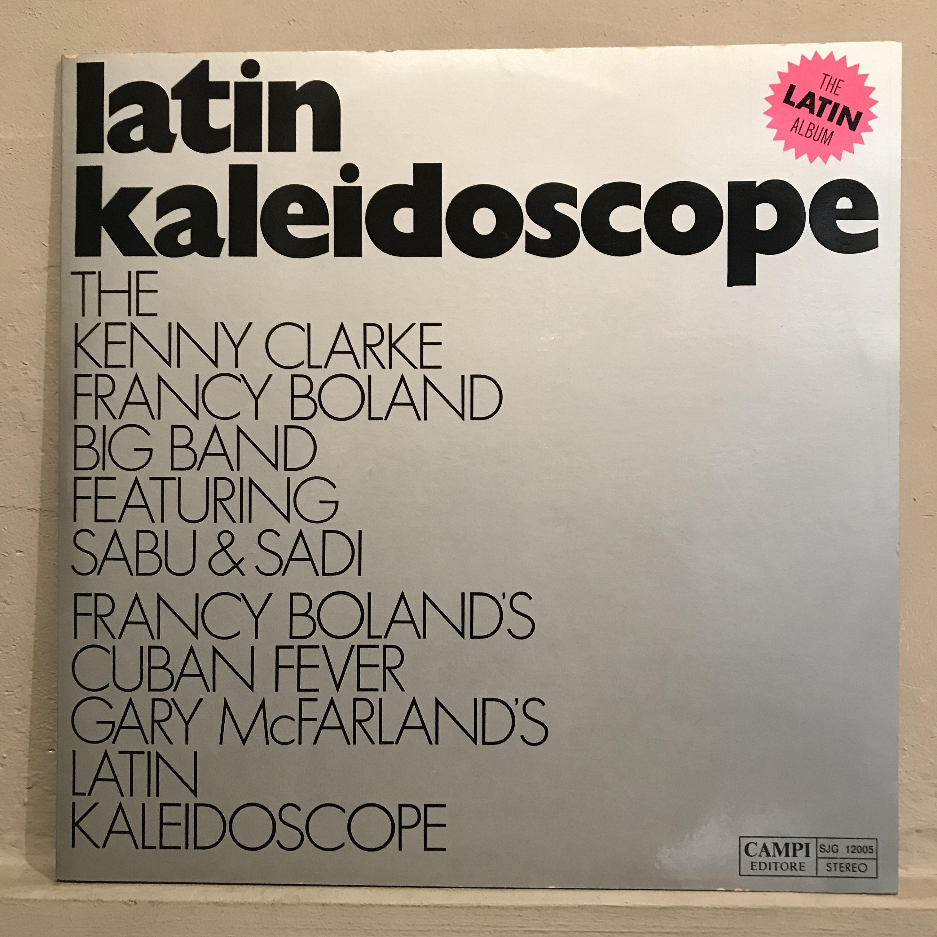 ●THE KENNY CLARKE - FRANCY BOLAND BIG BAND/LATIN KALEIDOSCOPE