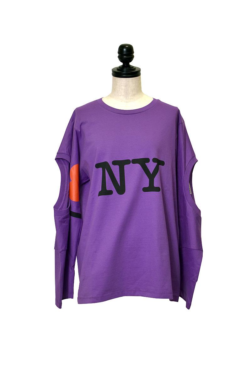 INFANANYMOUS / NY Triple T-shirt / SIZE:38
