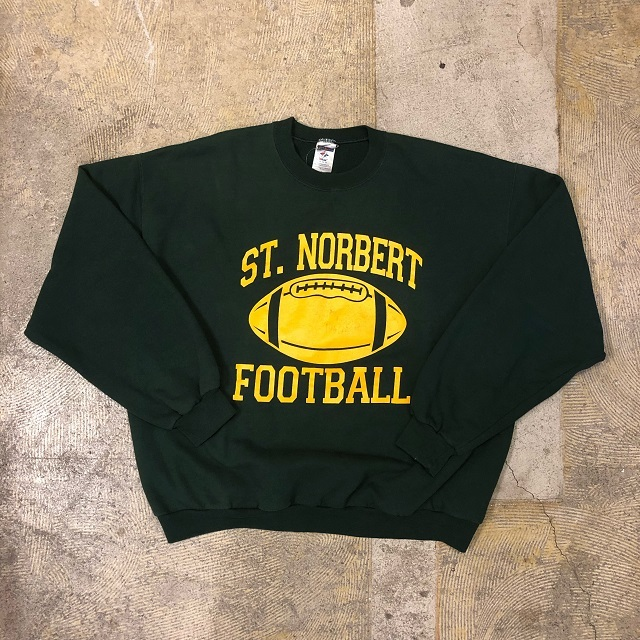 90's ST.Norbert Football Sweat