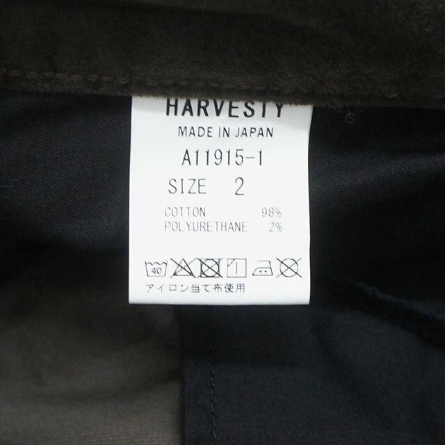 HARVESTY ハーベスティ 別珍エッグジョッパーズパンツ 正規取扱店 (品番a11915)