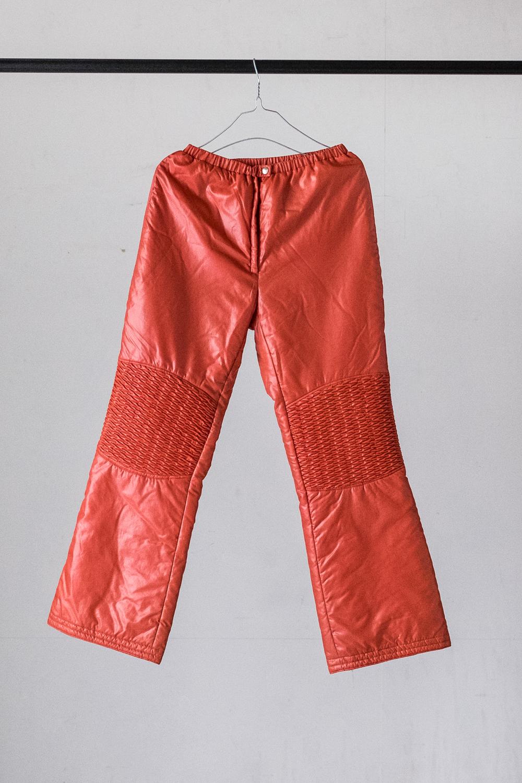 Vtg 80's Nylon Ski Pants