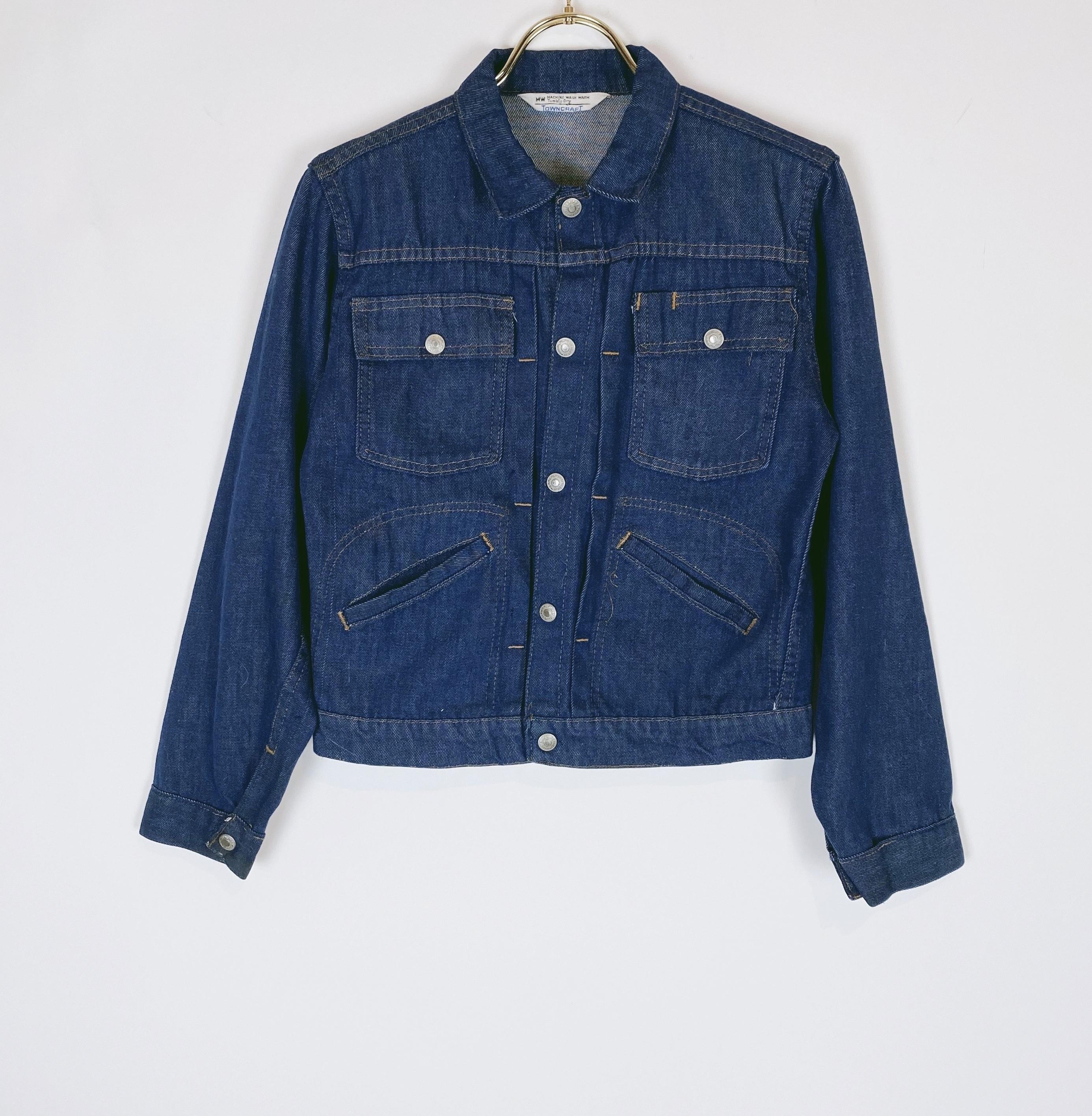 "◼︎60s vintage ""TOWN CRAFT"" boys denim jacket from U.S.A.◼︎"