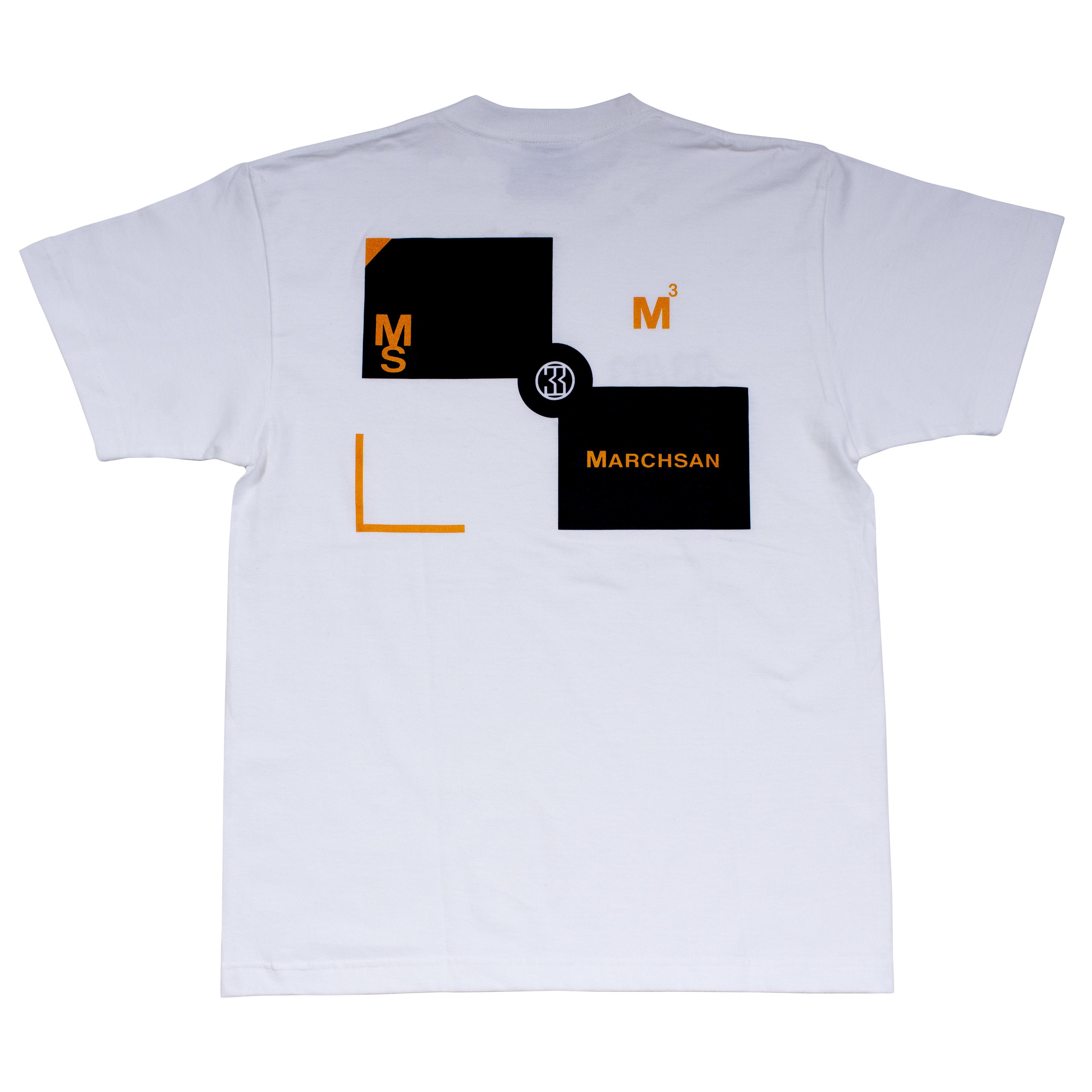 TARGET T-shirt 004(white)