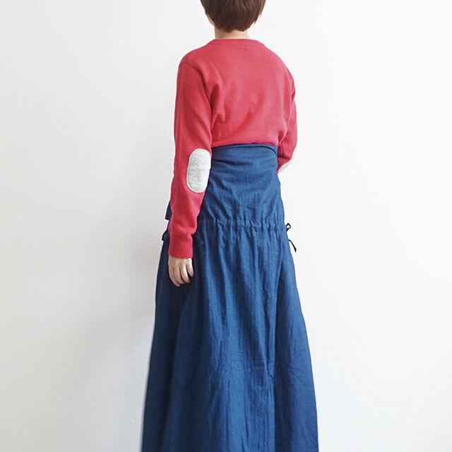 ichi イチ 配色ニットプルオーバー (品番190661)