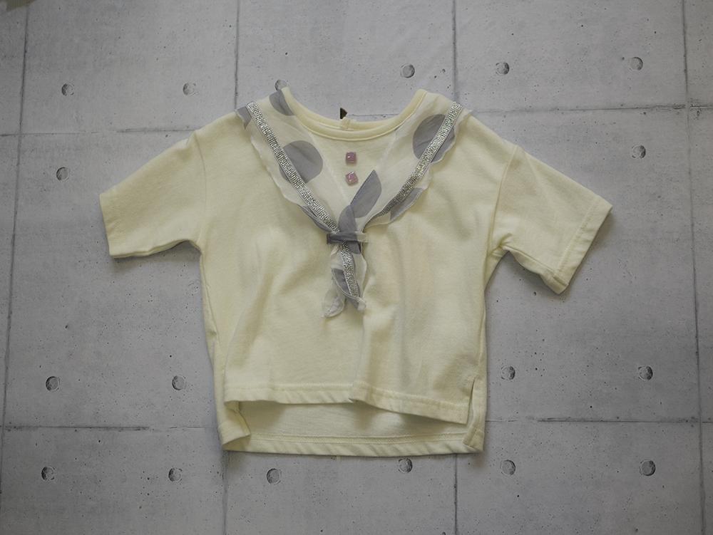 UNICA ドットスカーフ Tシャツ
