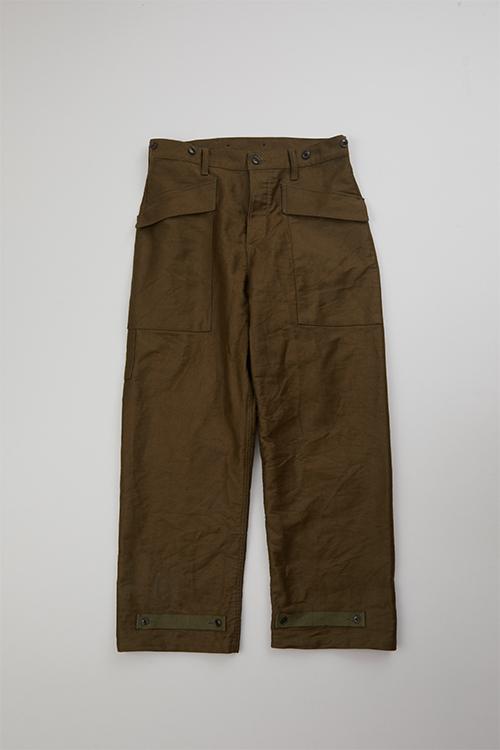 40s U.S ネイビー デッキ パンツ / 40s U.S NAVY DECK PANT - BEDFORD CLOTH
