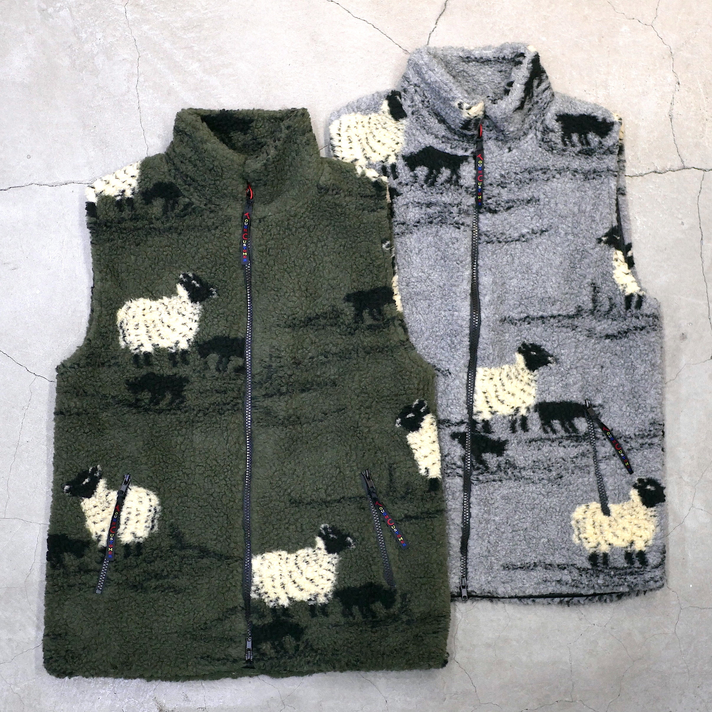 FARFIELD ORIGINAL / FLEECE VEST(SHEEP)