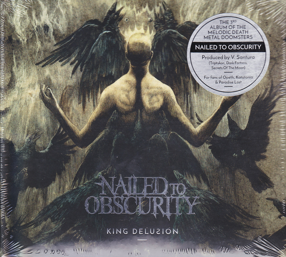 NAILED TO OBSCURITY 『King Delusion (Digi)』