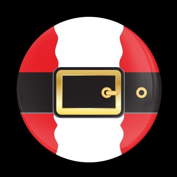 ゴーバッジ(ドーム)(CD0888 - Seasonal Santa Belt) - 画像1