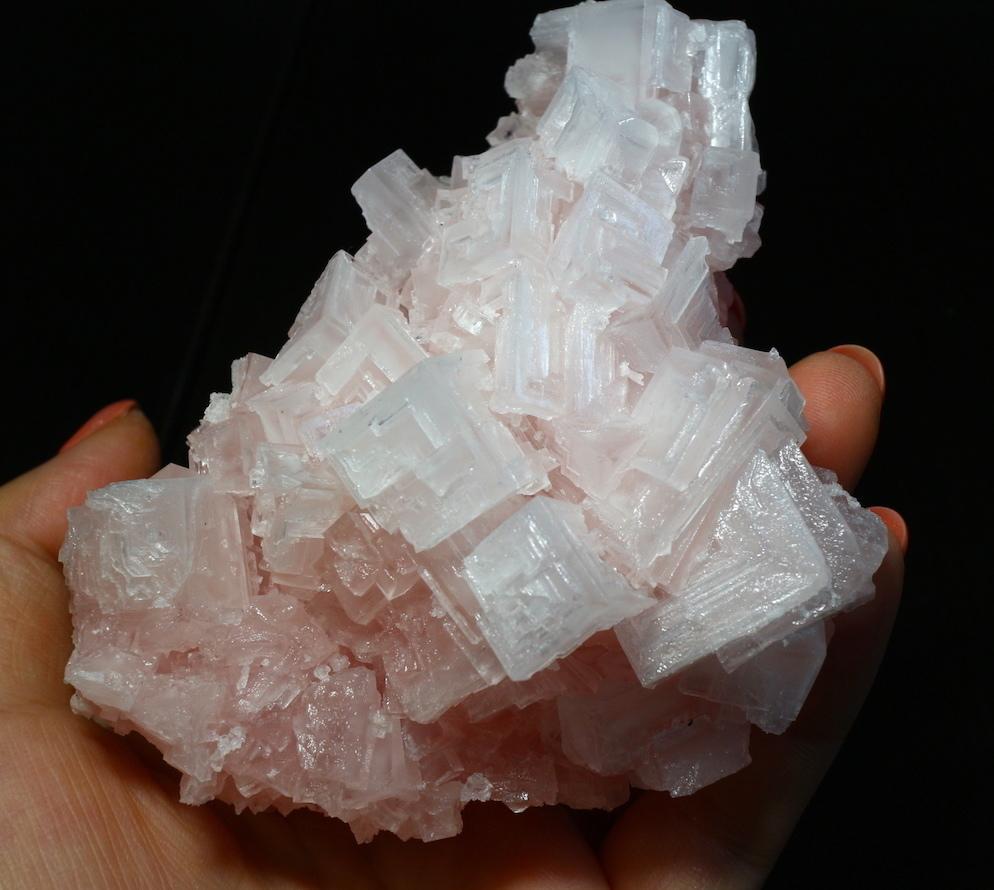 ピンクハーライト カリフォルニア産 307g 岩塩 PH042